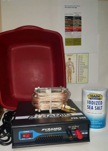 Ionic Detox Footspa Kit